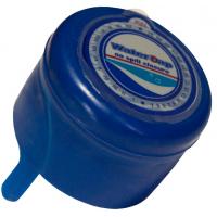 Пробка двухкомпонентная со стикером синяя